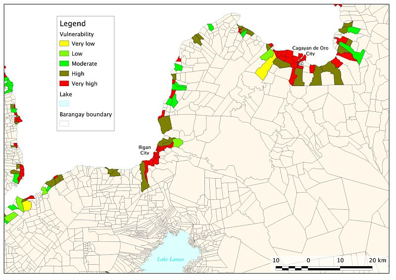Measuring Social Vulnerability To Build Resilience To Environmental - Flood hazard boundary map