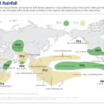 Map 1. El Nino and rainfall, from the International Research Institute for Climate and Society, Earth Institute, Columbia University